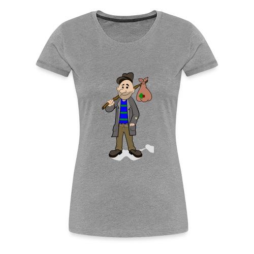 hobo5 by dorisofsign d8ddy20 - Women's Premium T-Shirt