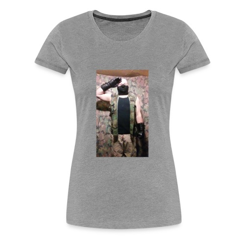 Wolf Paradox , reporting for duty - Women's Premium T-Shirt