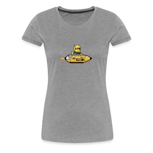 Yellow space marine - Women's Premium T-Shirt