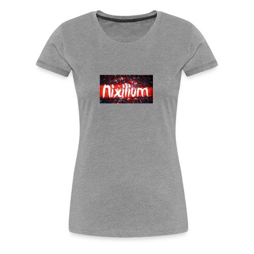 Official Nixilium Logo Shirts - Women's Premium T-Shirt