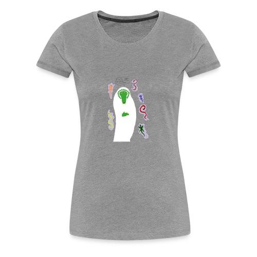 Holy Reptile Priest - Women's Premium T-Shirt