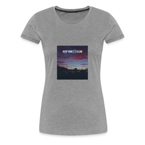 Clean - Women's Premium T-Shirt