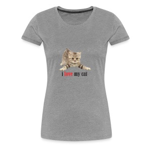 lovecat - Women's Premium T-Shirt
