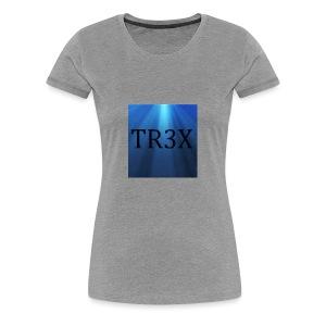 Tr3x Logo Merchendise - Women's Premium T-Shirt