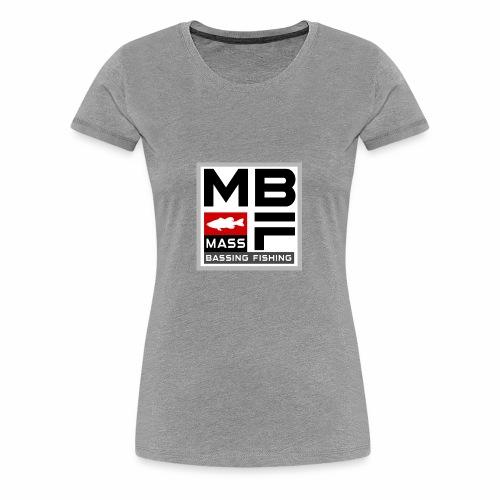 Mass Bassing Fishing - Women's Premium T-Shirt