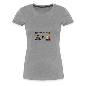 TACO KNIGHT VS SUPER BURRITO - Women's Premium T-Shirt