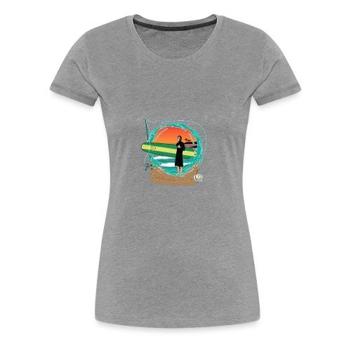 #foreverYoung Black Tee - Women's Premium T-Shirt