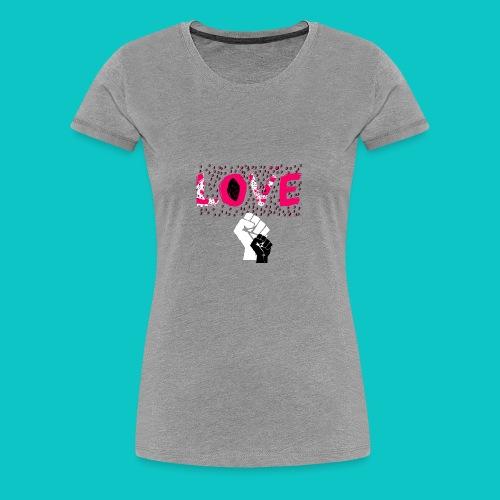 tshirt_1_love_wo_black_2_4 - Women's Premium T-Shirt