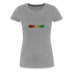 Peace Love Unity - Women's Premium T-Shirt
