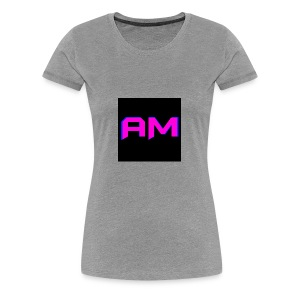 Pink, Blue, and black LOGO - Women's Premium T-Shirt
