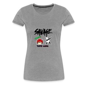 LUCKY MT logo - Women's Premium T-Shirt