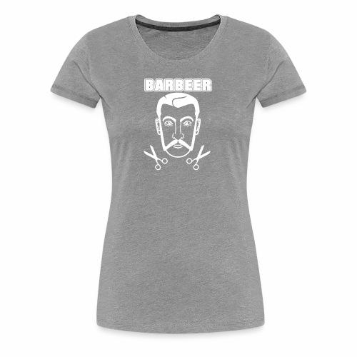 Barber 01 - Women's Premium T-Shirt