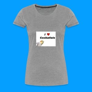 Cockatiels - Women's Premium T-Shirt