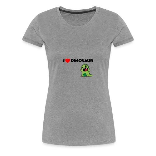 I LOVE DINOSAUR - Women's Premium T-Shirt