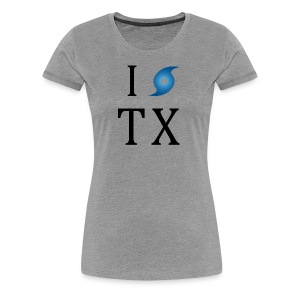 I Hurricane Texas - Women's Premium T-Shirt