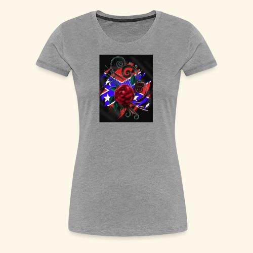 rebel roses - Women's Premium T-Shirt
