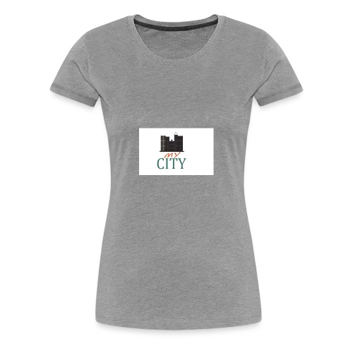 my city - Women's Premium T-Shirt