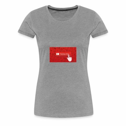 get free youtube subs - Women's Premium T-Shirt