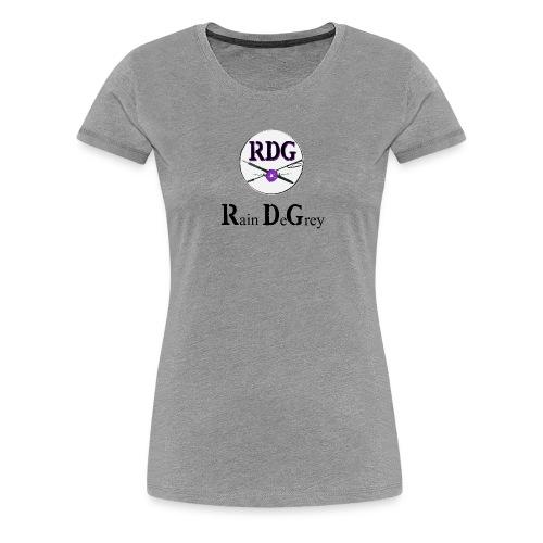 RDG Logo Black Lettering - Women's Premium T-Shirt