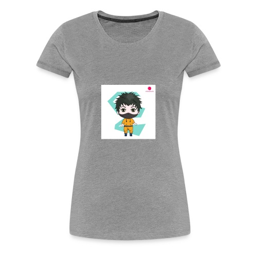 The mini x vampire logo - Women's Premium T-Shirt