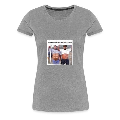True man Meme Shirt - Women's Premium T-Shirt