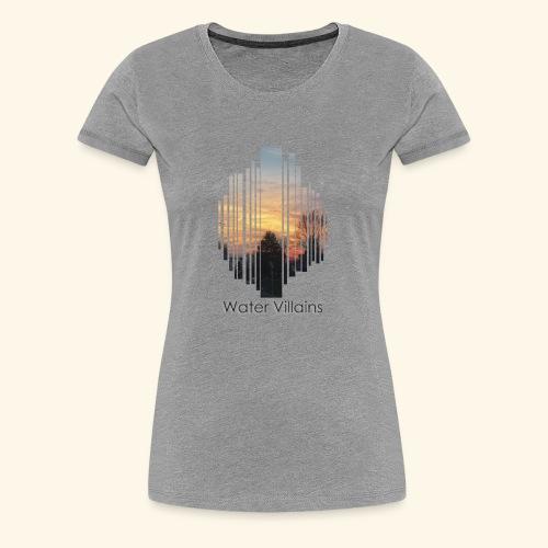Water Villains Britches Acoustic Art - Women's Premium T-Shirt