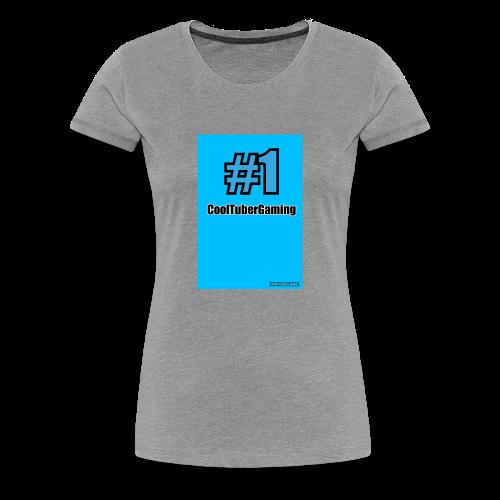 CoolTubergaming Shirts Mens,Women's and kids - Women's Premium T-Shirt