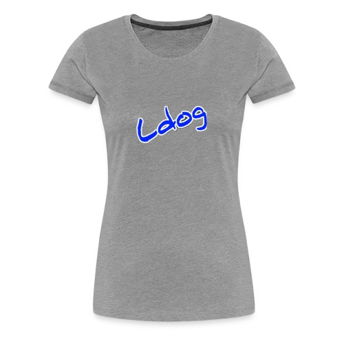 Ldog Logo - Women's Premium T-Shirt