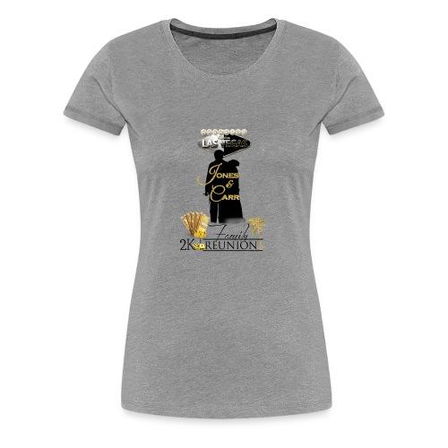 Jones Reunion 2K17 - Women's Premium T-Shirt