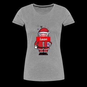 Fresh Slate Customs Santa Lean - Women's Premium T-Shirt