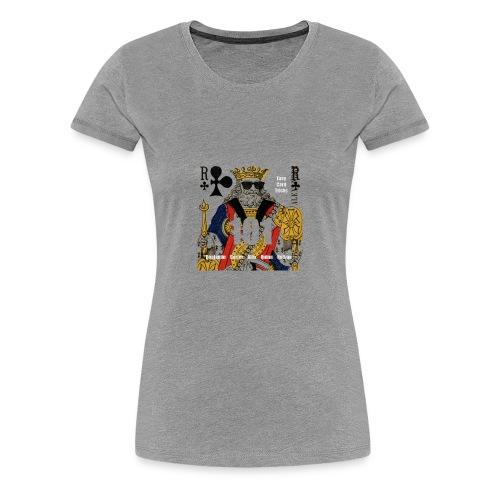 Easy Card Tricks 101 Logo - Women's Premium T-Shirt