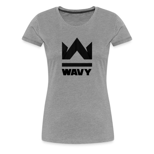 Too Wavy - Women's Premium T-Shirt