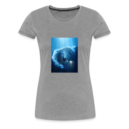 Mr.Shark is hungry - Women's Premium T-Shirt