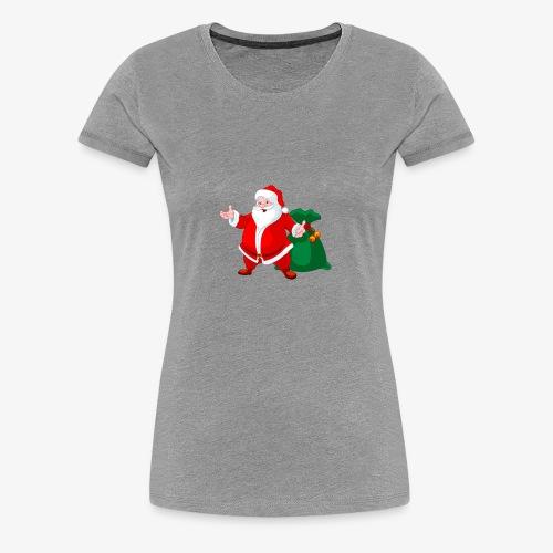 Christmas Santa - Women's Premium T-Shirt