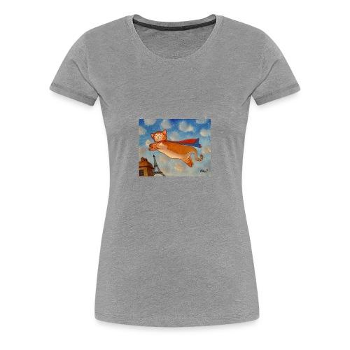 14e0cf00cb138c66f0dfbecf5e599832 super cat cat dr - Women's Premium T-Shirt
