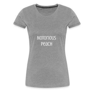 Line one Peach - Women's Premium T-Shirt