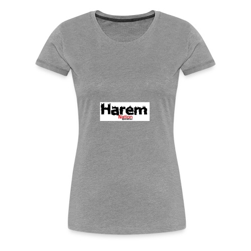 Harem Nation - Women's Premium T-Shirt