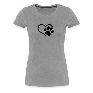 LOVE DOG - Women's Premium T-Shirt