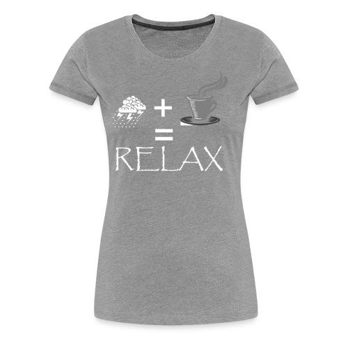 RELAX2 - Women's Premium T-Shirt