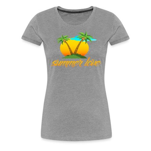 Summer Love Collection - Women's Premium T-Shirt