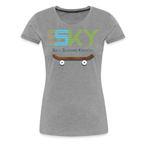 SSKY board logo - Women's Premium T-Shirt