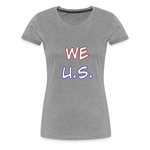 WE U.S. - Women's Premium T-Shirt