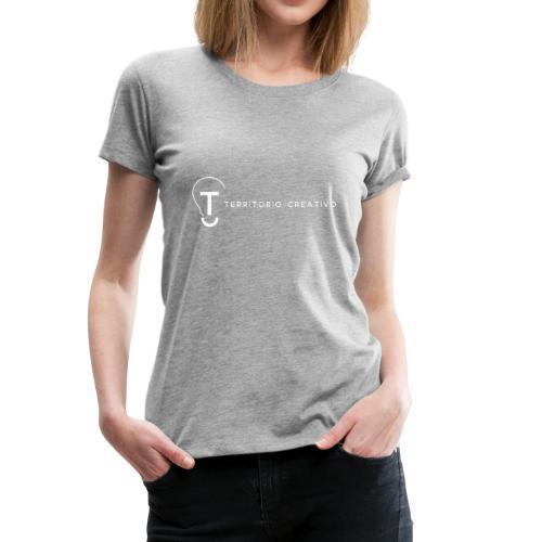 TC logo White - Women's Premium T-Shirt