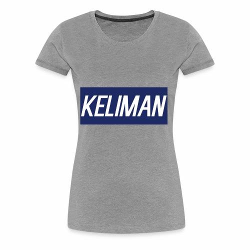 KeliMan Logo V1 - Women's Premium T-Shirt