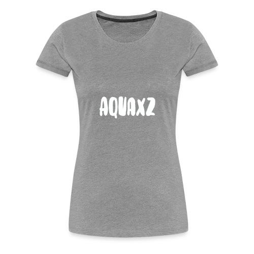 Aquaxz Merch Shirt - Women's Premium T-Shirt
