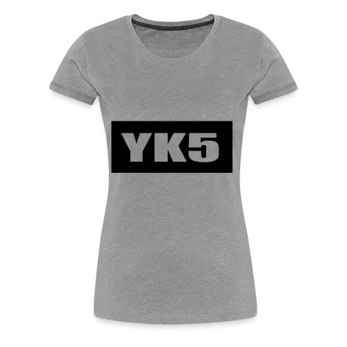 yk5shirtlogo - Women's Premium T-Shirt