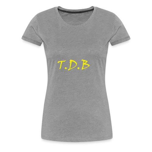 T.D.B LOGO - Women's Premium T-Shirt