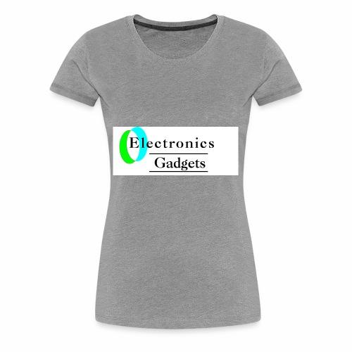 Electronic Gadgets - Women's Premium T-Shirt