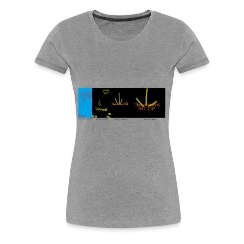 historic Team TA935 logos - Women's Premium T-Shirt