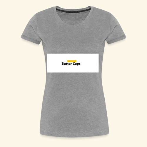 Butter Cups Merch - Women's Premium T-Shirt